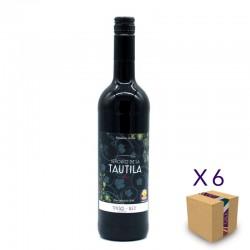 Vino Tinto 0,0 SEÑORÍO DE LA TAUTILA (6 ud.)