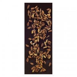 Chocolate Artesano Ecológico Negro 74% Cacao con Semillas de Olivo LA VIRGITANA