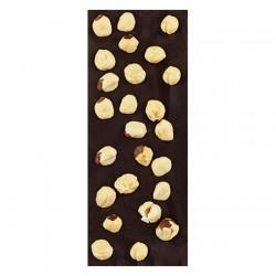 Chocolate Artesano Ecológico Negro 74% Cacao con Avellanas SABOR ANDALUZ