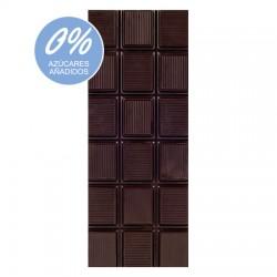 Chocolate Artesano Ecológico Sin Azúcar Negro 74% Cacao LA VIRGITANA