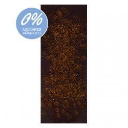 Chocolate Artesano Ecológico Sin Azúcar Negro 74% Cacao con Canela LA VIRGITANA