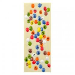 Chocolate Blanco con Grageas de colores Artesano Ecológico LA VIRGITANA
