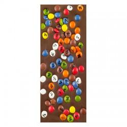Chocolate con Leche y Grageas de colores Artesano Ecológico LA VIRGITANA