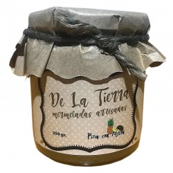 Mermelada de Piña con Melón y Hierbabuena DE LA TIERRA (Varios formatos)