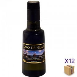 Aceite de Oliva Virgen Extra Arbequina ORO DE NÍJAR (12 botellas de 250 ml.)