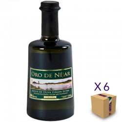 Aceite de Oliva Virgen Extra Picual ORO DE NÍJAR (6 botellas de 2 l.)