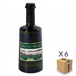 Aceite de Oliva Virgen Extra Picual ORO DE NÍJAR (6 botellas de 500 ml.)
