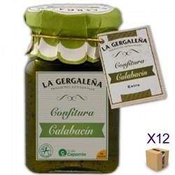 Confitura de Calabacín LA GERGALEÑA 190 gr. (12 uds.)