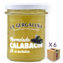 Mermelada de Calabacín LA GERGALEÑA 230 gr. (6 uds.)