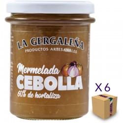 Mermelada de Cebolla LA GERGALEÑA 230 gr. (6 uds.)