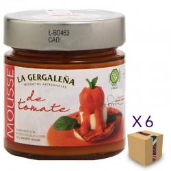 Mousse de Tomate LA GERGALEÑA 245 gr. (6 uds.)