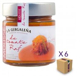Mousse de Tomate Raf LA GERGALEÑA 245 gr. (6 uds.)