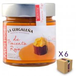 Mousse de Pimiento Rojo LA GERGALEÑA 235 gr. (6 uds.)