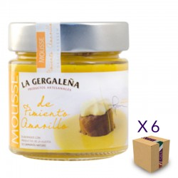 Mousse de Pimiento Amarillo LA GERGALEÑA 235 gr. (6 uds.)