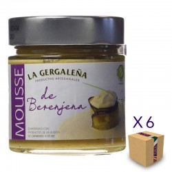 Mousse de Berenjena LA GERGALEÑA 245 gr. (6 uds.)