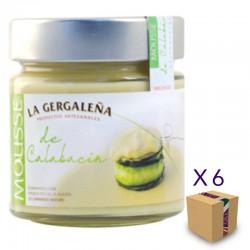 Mousse de Calabacín LA GERGALEÑA 245 gr. (6 uds.)