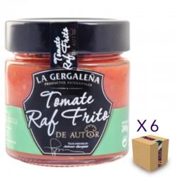 Tomate Raf Frito De Autor LA GERGALEÑA 230 gr. (6 uds.)
