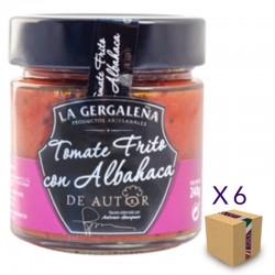 Tomate Frito con Albahaca De Autor LA GERGALEÑA 230 gr. (6 uds.)