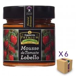 Mousse de Tomate Lobello CAPARRÓS NATURE PREMIUM LA GERGALEÑA 235 gr. (6 uds.)