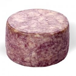 Queso Curado Puro de Cabra con Vino SERONÉS ARTESANO 450 gr. (varias coberturas)