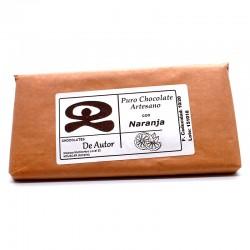 Chocolate Artesano con Naranja DE AUTOR