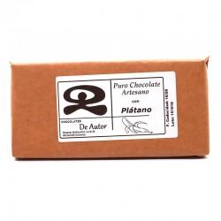 Chocolate Artesano con Plátano DE AUTOR