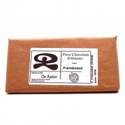 Chocolate Artesano con Frambuesa DE AUTOR