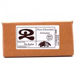 Chocolate Artesano 85% Cacao Puro DE AUTOR
