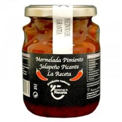 Mermelada de Pimiento Jalapeño Picante LA RECETA (varios formatos)