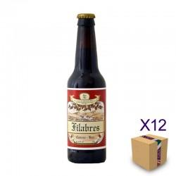 Cerveza Artesana Red Ale de CERVEZAS DE LOS FILABRES (12 ud.)
