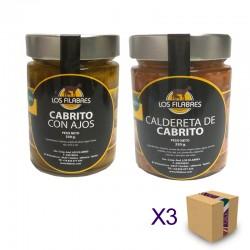 Pack Surtido SOCIEDAD COOPERATIVA ANDALUZA LOS FILABRES (6 ud.)