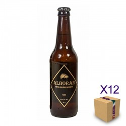 Cerveza Artesana Ecológica Rubia ALBORÁN (12 uds.)