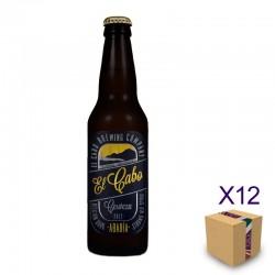 Cerveza Artesana EL CABO Abadía (12 ud.)