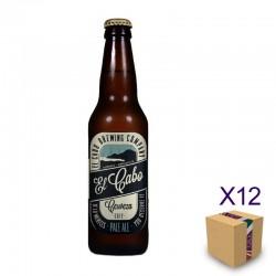 Cerveza Artesana EL CABO Pale Ale (12 ud.)