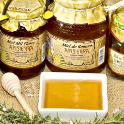 Miel Artesana APISIERRA (varios sabores y formatos)