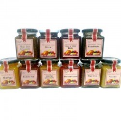Mermelada Artesana APISIERRA (varios formatos y sabores)