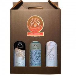 Vino de Mesa BODEGA GARCÍA GIL (Pack Degustación 3 ud.)