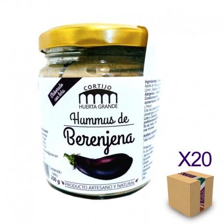 Hummus Artesano de Berenjena CORTIJO HUERTA GRANDE