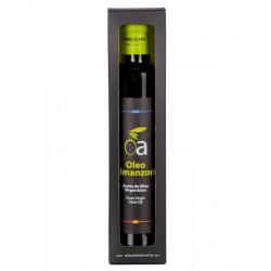 Estuche de 500 ml. Aceite de Oliva Virgen Extra Arbequina Premium ÓLEO ALMANZORA (varios formatos)