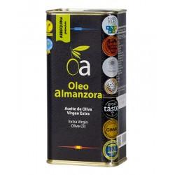 Lata Aceite de Oliva Virgen Extra Arbequina Premium ÓLEO ALMANZORA (varios formatos)
