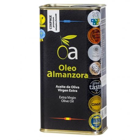 Lata Aceite de Oliva Virgen Extra Coupage Premium ÓLEO ALMANZORA (varios formatos)