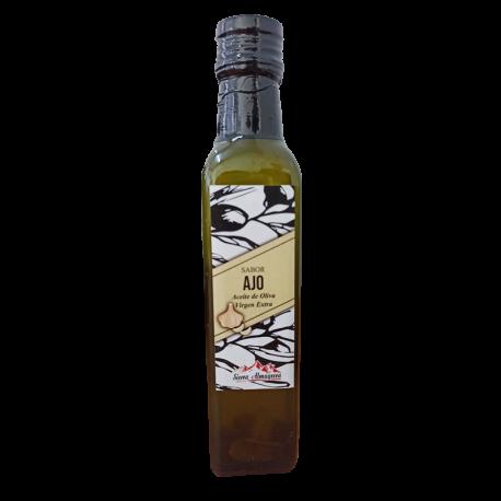 Aceite de Oliva Virgen Extra Aromatizado con Ajo SIERRA ALMAGRERA SELECTOS (varios formatos)