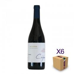 Vino Tinto Reserva 2016, colección Céspedes, BODEGAS MOROSANTO (6 botellas)