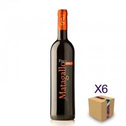Vino Tinto Finca Matagallo, BODEGAS VALLE DE LAUJAR (6 botellas)
