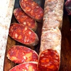 Chorizo Cular EMBUTIDOS CASEROS ALPUJARREÑOS