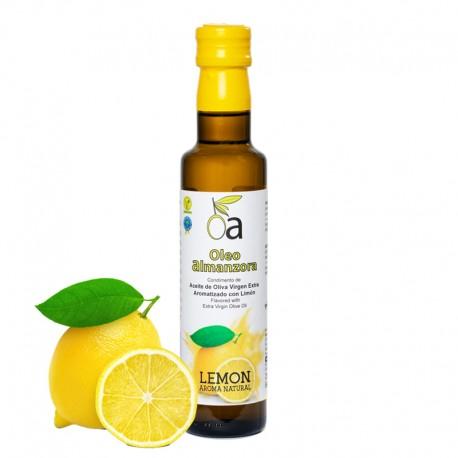Aceite de Oliva Virgen Extra Aromatizado Con Limón ÓLEO ALMANZORA (varios formatos)