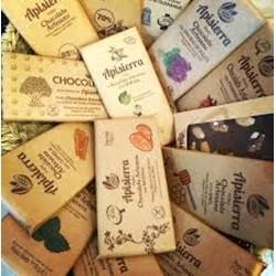 """Chocolate Artesano Negro """"Roots"""" APISIERRA (varios sabores)"""