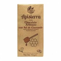 Chocolate Artesano Negro con Sal APISIERRA