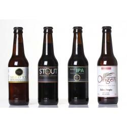 "Cerveza Artesana ORIGEN (Pack Surtido ""BASIC"" 12 ud.)"