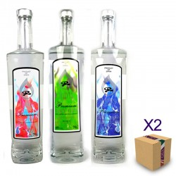Lote Gin+Vodka IGNIS (6 uds.)